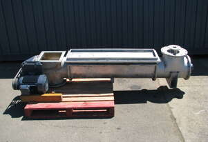 Stainless Steel Dewatering Separator Screw Auger - 4kW