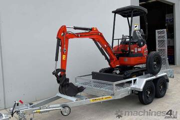 PACKAGE - XN18 1.8t + 8 ATTACHMENTS + 3.5T TRAILER
