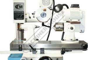 TM-6025Q Universal Tool & Cutter Grinder Ø250 x 350mm Grinding Capacity 2 Speed, 4200 & 7000rpm