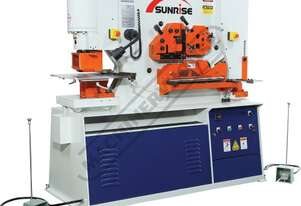 IW-100SH Hydraulic Punch & Shear - 100 Tonne Dual Hydraulic Cylinders with Independent Operating Sta