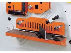 IW-100SH Hydraulic Punch & Shear 100 Tonne, Dual Independent Operation Includes Hydraulic Plate Clam - picture10' - Click to enlarge
