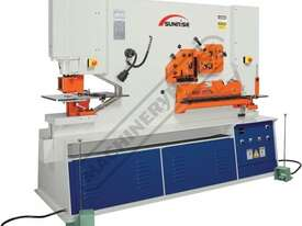 IW-100SH Hydraulic Punch & Shear 100 Tonne, Dual Independent Operation Includes Hydraulic Plate Clam - picture0' - Click to enlarge