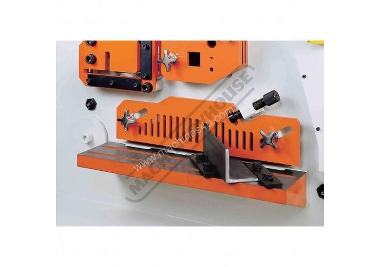 IW-100SH Hydraulic Punch & Shear 100 Tonne, Dual Independent Operation Includes Hydraulic Plate Clam
