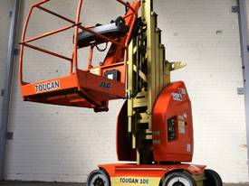 JLG Toucan T10E Mast Boom Lift - picture0' - Click to enlarge