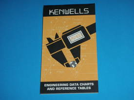 Kenwells Engineering Data Charts & Reference Table - picture1' - Click to enlarge