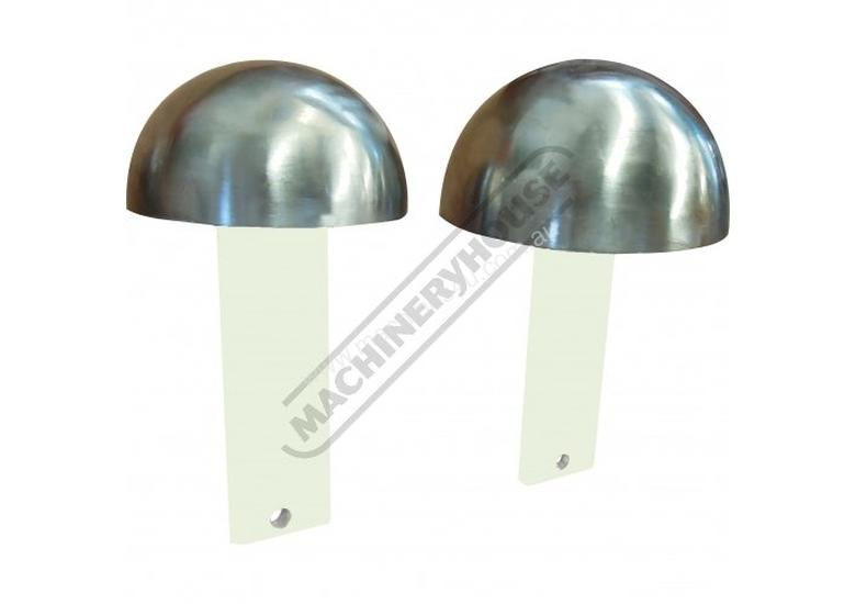 MDL-2 Mushroom Steel Dome Dolly Set Ø120 & Ø150 Set of 2