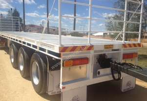 Heath Busch Trailers 45' FLAT TOP TRAILER