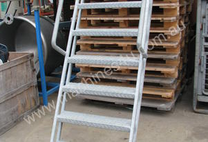 Industrial Steel Stairs Staircase Ladder - 1.5m