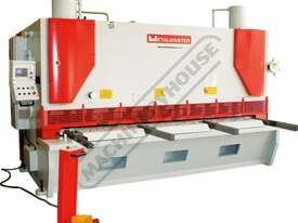 HG-5016VR Variable Rake Hydraulic NC Guillotine 5000 x 16mm Mild Steel Shearing Capacity 1-Axis Ezy- - picture0' - Click to enlarge