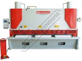 HG-5016VR Variable Rake Hydraulic NC Guillotine 5000 x 16mm Mild Steel Shearing Capacity 1-Axis Ezy- - picture3' - Click to enlarge