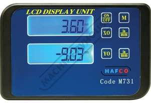 M731 2-Axis Digital Display Unit