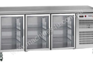FAGOR 3 Glass Door SS Top Refrigerated Counter MFP-180CGD