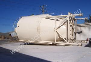 150ton silo  with  three  screw out  augers