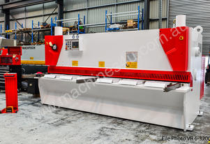 New Machtech VR12-3200A Hydrual. Guillotine