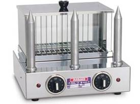 Roband M3 Hot dog warmer with 3 bun warming spikes - picture0' - Click to enlarge