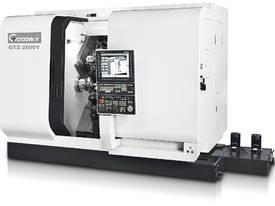 Goodway GTZ Series Twin Turret  Twin Spindle  - picture0' - Click to enlarge