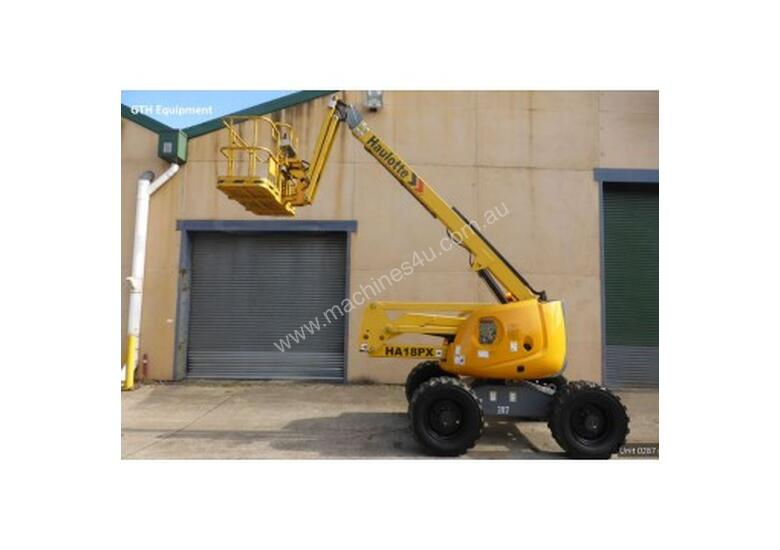 Haulotte HA 18 PX (Unit 0287) Knuckle Boom Lift