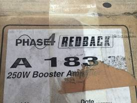 NEW REDBACK 4 PHASE PA POWER AMPLIFIER #A