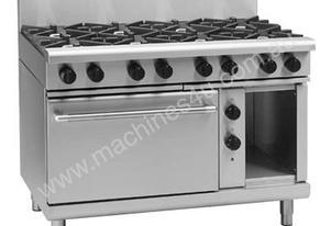 Waldorf RN8810GE 1200mm 8 Burners Gas Range - Convection Oven