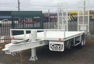 NEW 2016 CBTC Single Axle Plant Trailer
