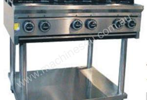 CE8BT1200 8 Burner Cook Top + stand & shelf under