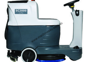Nilfisk SC2000 Micro ride-on Scrubber/dryer