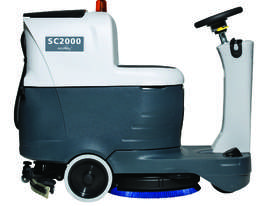 Nilfisk SC2000 Micro ride-on Scrubber/dryer - picture0' - Click to enlarge