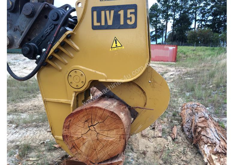 Excavator Tree Shears for Hire