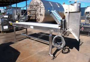 Flat Belt Conveyor, 3050mm L x 520mm W x 920mm H
