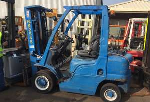 Unicarriers   USED LPG FORKLIFT