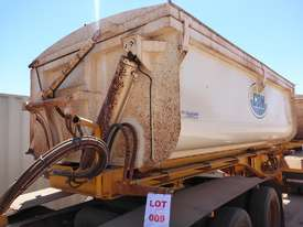 2013 GTE TRi Axle Side Tipping A  Trailer AUCTION - picture0' - Click to enlarge