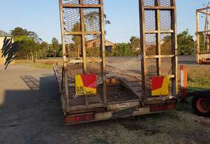 Singel axle tag trailer