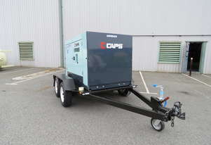 AIRMAN PDS265SC-5B2-T 265cfm Trailer mounted Portable Diesel Air Compressor w/ Aftercooler
