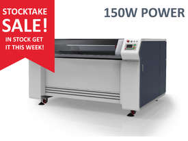 STOCK SALE - 150W -1.3m x 0.9m bed - Laser Cutter/ Engraver - IN STOCK - picture0' - Click to enlarge