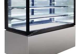NDSV3740 Anvil Aire - Square Glass Display 3 Tier 1200mm