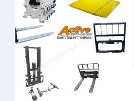 Forklift Jib Zinc Plated Extents to 2 Meters 7500kg Capacity Syd - picture6' - Click to enlarge