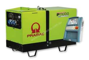Pramac 10.8kVA Three Phase Silenced Auto Start Diesel Generator