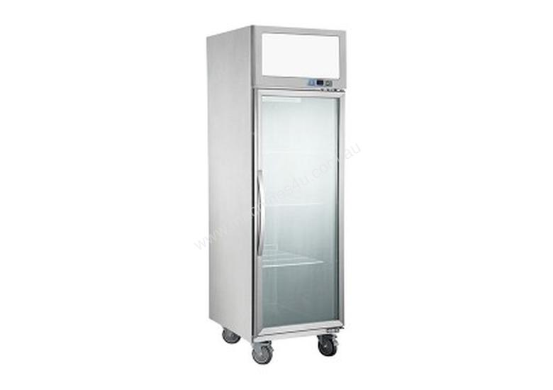 F.E.D Upright Display Fridges Stainless Steel Exterior & Interior