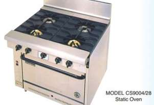 Goldstein Cuisine 900 mm Deep 4 Burner Oven Range