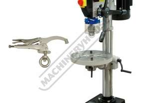 BD-325 Bench Drill & Clamp Package Deal 16mm Drill Capacity 2MT