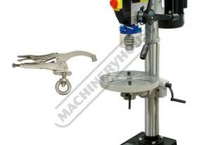 BD-325 Medium-Duty Bench Drill & Clamp Package Deal Table Tilts Left & Right To 45º & Rotates 360º