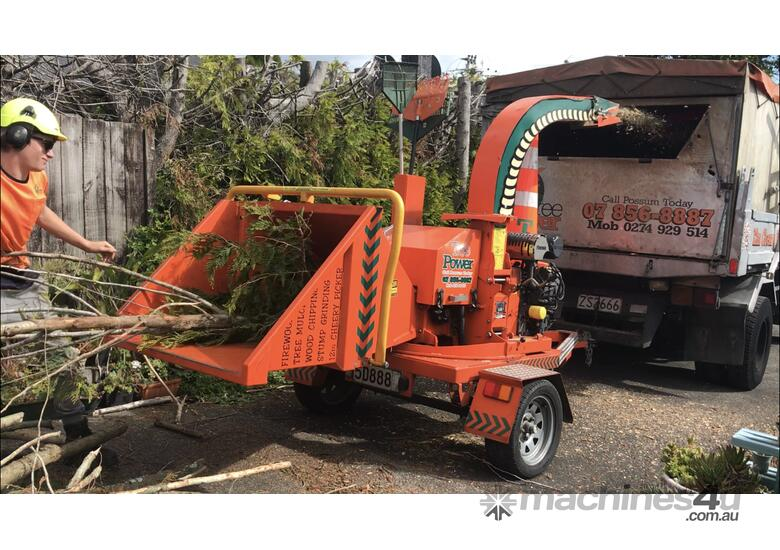 New 2018 Hansa Chippers C27 Wood Chippers Shredders In