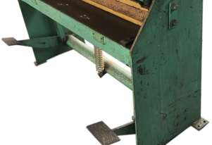 Guillotine 1250 x 1.5mm Sheet Metal Cutter 4 foot manual treadle