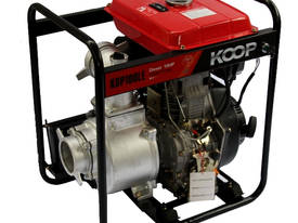 KOOP 4 inch ELECTRIC START 10HP - picture0' - Click to enlarge