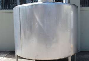 Stainless Steel Jacketed Mixing Tank