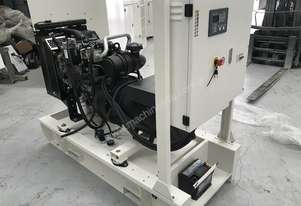 26kW/33kVA 3 Phase Skidmounted Diesel Generator.  Perkins Engine.