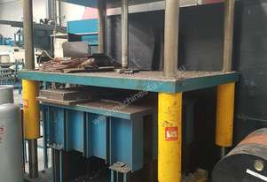 Bedding press. Tool & die press