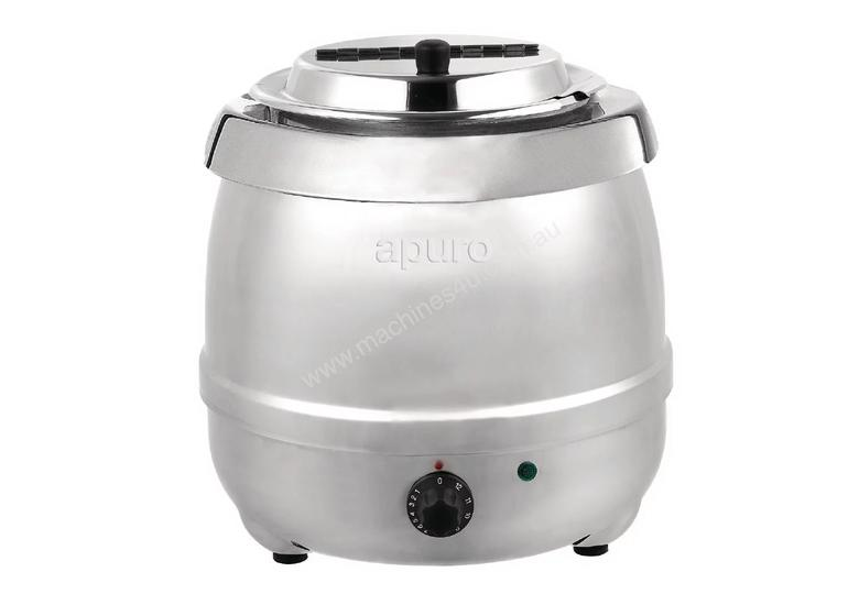 Apuro L714-A - 10Ltr Easy Serve Soup Kettle Stainless Steel