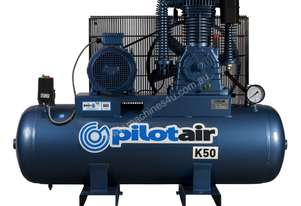 K50 Reciprocating Air Compressor - 415V Three Phase