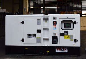 143kVA, 3 Phase, Standby Diesel Generator with Cummins Engine in Canopy